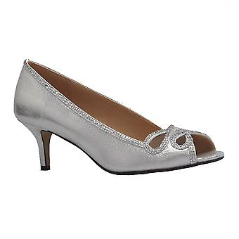 Glamour Womens Shoe Polly Silver