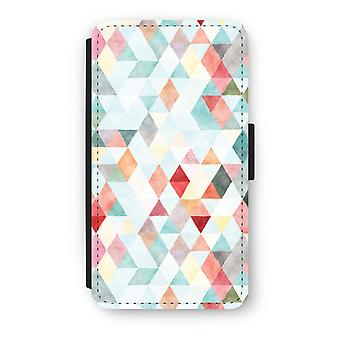 Samsung Galaxy A3 (2017) Flip Case - fargede trekantene pastell