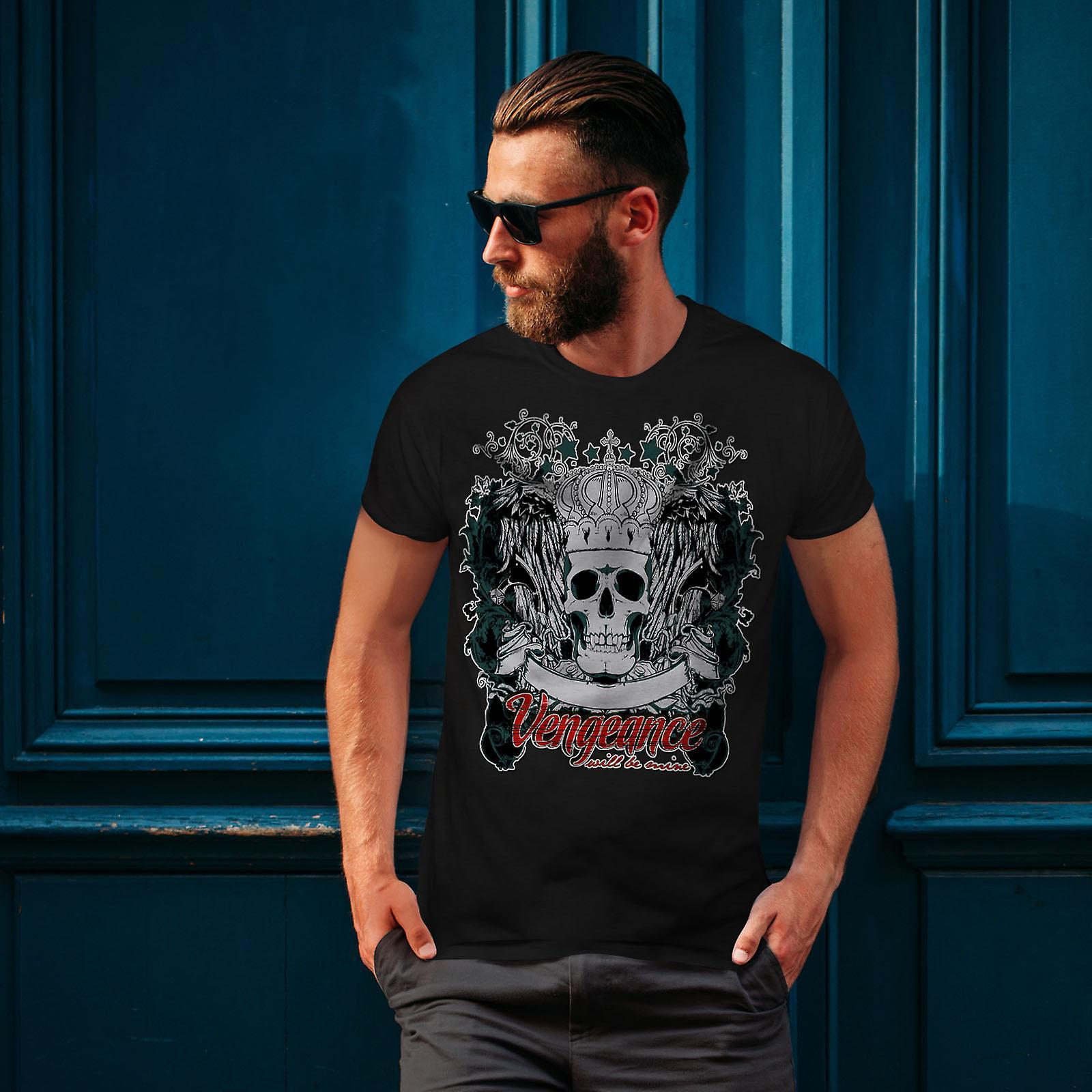 Rache werden Mine Herren BlackT-Shirt | Wellcoda