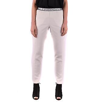 Ermanno ladies PL07249 white polyester pants