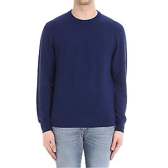 Brooks Brothers men's 100085251 blue wool sweater