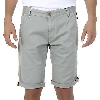 Andrew Charles Mens Shorts Light Grey Sadeck
