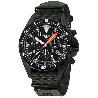 KHS MissionTimer 3 mens watch watches field chronograph KHS. MTAFC. NXTO1