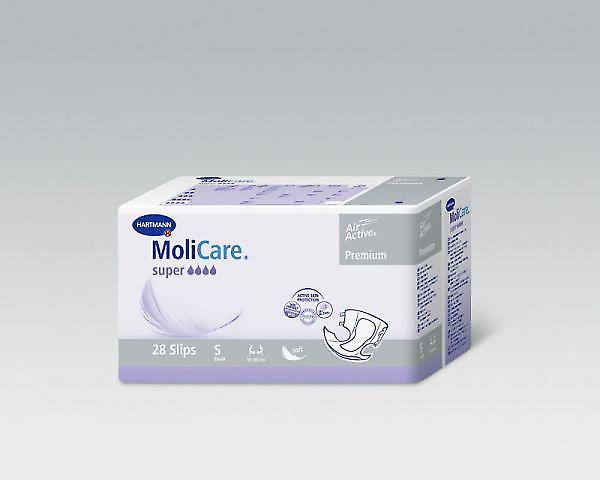 Molicare Softsuper | Small | Unisex All-in-1 Incontinence Pads | Pack Of 28