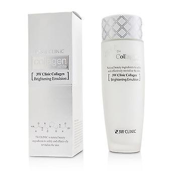 3w Clinic Collagen White Brightening Emulsion - 150ml/5oz