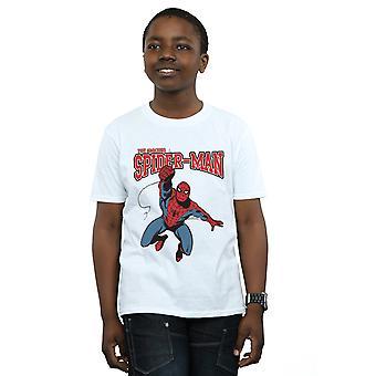 Marvel Boys Spider-Man Leap T-Shirt