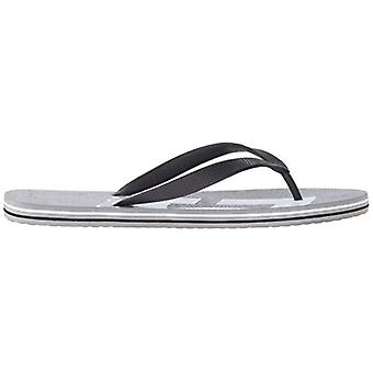 DC Mens Spray Graffik Slip On Open Toe Flip Flops