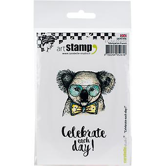 Carabelle Studio Cling Stamp A7-Celebrate Each Day