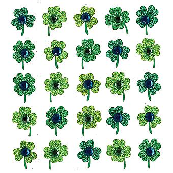 Jolee's Boutique Dimensional Stickers-Clover Repeats