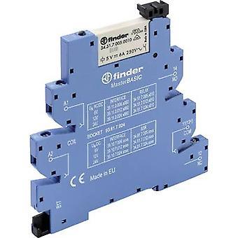 Finder 39.11.0.006.0060 - MasterBASIC Electromechanical Relay Interface Module, EMR, SPDT-CO 250V AC 6A