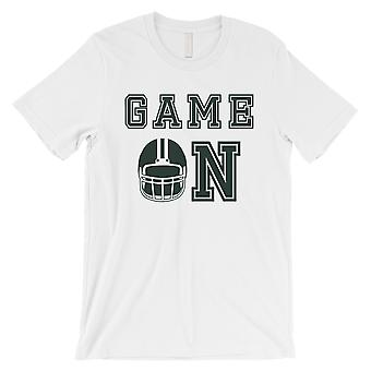 GAME ON New York NY T-Shirt Mens Funny Game Day Short Sleeve Shirt