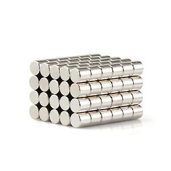 Neodymium magnet 10 x 10 mm dial N35 - 500 bitar
