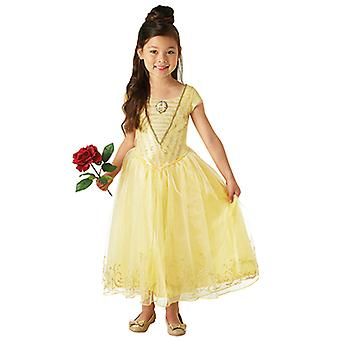 Belle live action movie Deluxe beauty and as beast dress for children