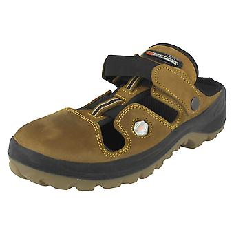 Mens Pro Safety Work Clog Safety Shoes