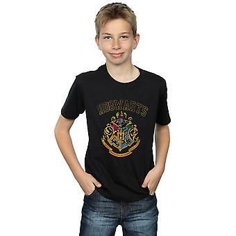 Harry Potter gutter Varsity stil Crest t-skjorte