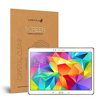 Celicious Vivid Invisible Glossy HD Screen Protector Film Compatible with Samsung Galaxy Tab S 10.5 [Pack of 2]