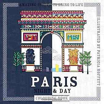 Paris Night & Day Colouring Book