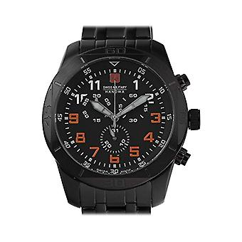 Swiss Military Hanowa Mens Quartz Analogueico Watch with stainless steel band 06-5265.13.007.79