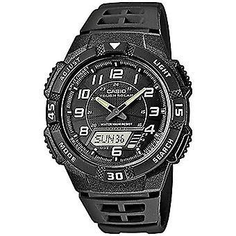 Casio analog-digital Watch quartz men with black resin strap AQ-S800W-1BVEF