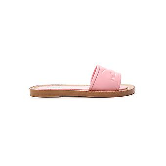 Thom Browne Pink Leather Sandals