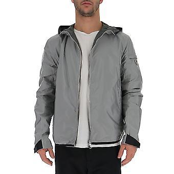 Prada gris Nylon prendas de abrigo chaqueta
