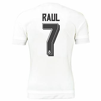 2015-16 Real Madrid Home Shirt (Raul 7) - Kids