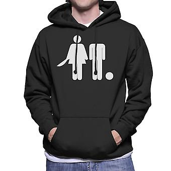 Anti Men Decapitated Man Men's Hooded Sweatshirt