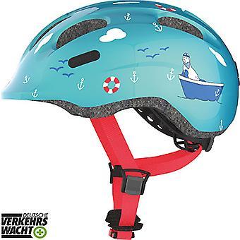 Abus Smiley 2.0 Kinder-Fahrradhelm // turquoise sailor