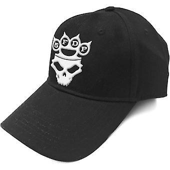 Cinq Finger Death Punch Baseball Cap Knuckles bande Logo officiel noir Strapback