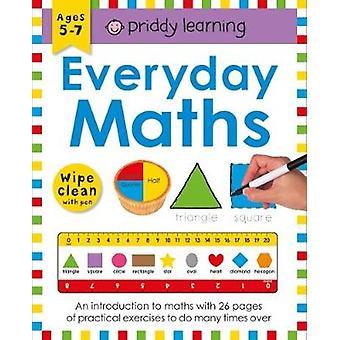 Wipe Clean Workbook Everyday Maths by Roger Priddy - 9781783416073 Bo