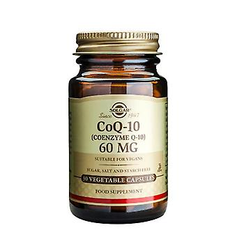 Solgar Coenzyme Q-10 60 mg 30 Vegetable Capsules