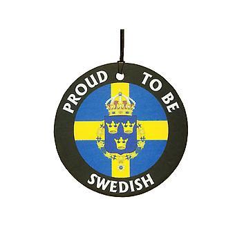 Stolz zu schwedischen Auto-Lufterfrischer
