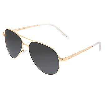 Breed Void Titanium Polarized Sunglasses - Gold/Black