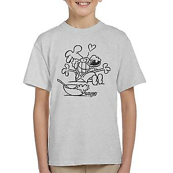 Grimmy Cooking Kid's T-Shirt