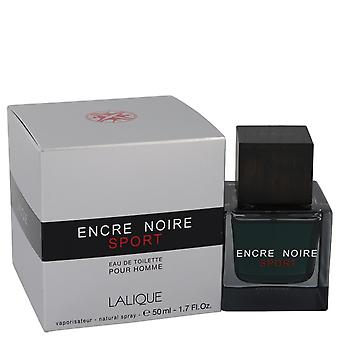 Encre Noire Sport by Lalique Eau De Toilette Spray 1.7 oz / 50 ml (Men)