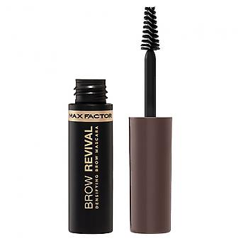 Max Factor Brow Revival Densifying Eyebrow Gel with Oils and Fibres 005 Black Brown