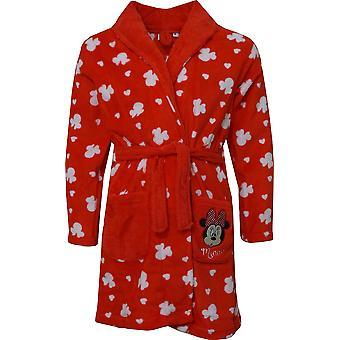 Piger HS2098 Disney Minnie Mouse Coral fleece dressing kjole