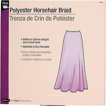 Horsehair Braid White 789R 1 W
