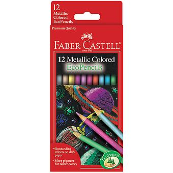Metallic Colored Ecopencil 12 Pkg 9120412