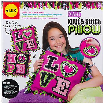Giant Knot & Stitch Pillow Kit A1180d