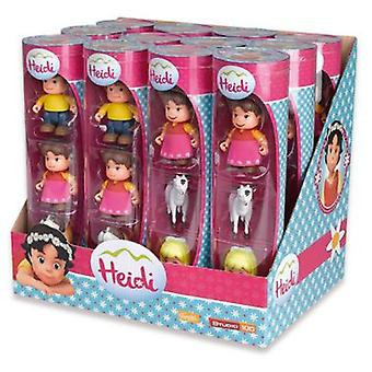 Famosa Heidi Mini Tube 1: Heidi, Peter And Fog (Toys , Preschool , Playsets , Dolls)