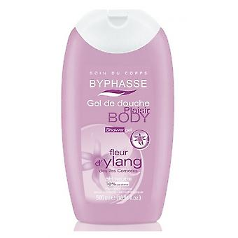Byphasse Ylang Flower Shower Gel 500 Ml