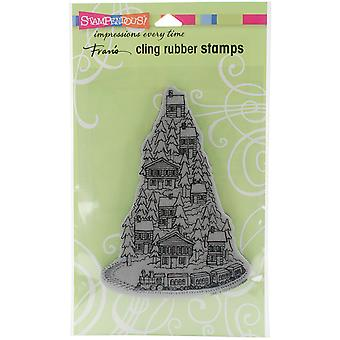 Stampendous Cling Stamp 7.75