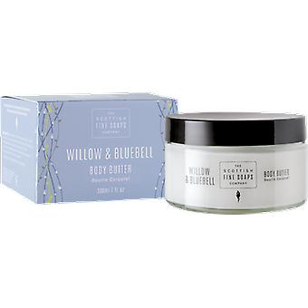Scottish Fine Soaps Willow & Bluebell Body Butter Jar