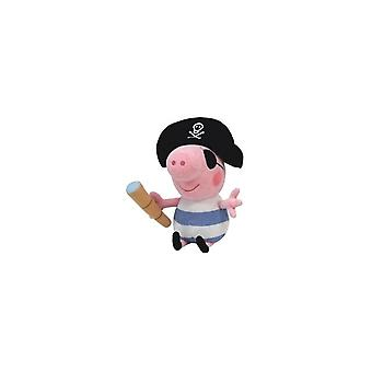 Ty Beanie Babies Pig George Pirate Knuffel 23cm