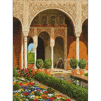 The Palace Garden Counted Cross Stitch Kit-11.75