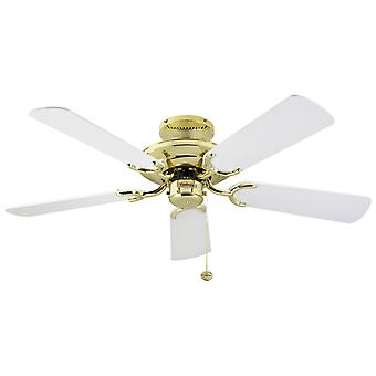 Ceiling Fan Mayfair polished brass 107 cm / 42