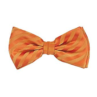 Frédéric Thomass fly loop tie orange striped