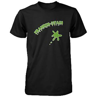 Franken-pletten Halloween mænds skjorte sjove grafiske sort Tee for Horror natten sjove skjorte