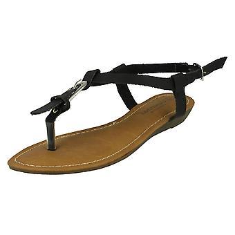 Dame Savannah kile tå Post sandaler F0958